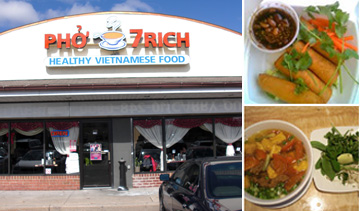Pho 7Rich- Vietnamese cuisine- Special- Delicious